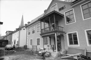 Serviceboendet Aspen på Hunnebergsgatan byggs 1976 och invigs i september 1977. Bygget blev mycket uppmärksammat och fick Expressens miljöpris 1977.