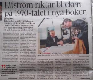 Elfström riktar blicken på 1970-talets Linköping
